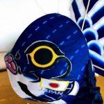 ワールドカップ日本代表応援用の青い金魚ネプタ